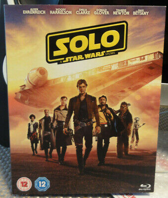 Solo A Star Wars Story Blu Ray