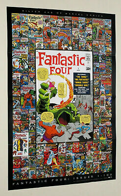 Fantastic Four Archives - Issues 1-100 Poster, Case Topper - Rittenhouse 2008