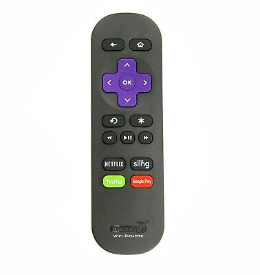 NEW Wi-Fi Remote FIT for ROKU STICK and ALL ROKU Steaming Player and Roku TV
