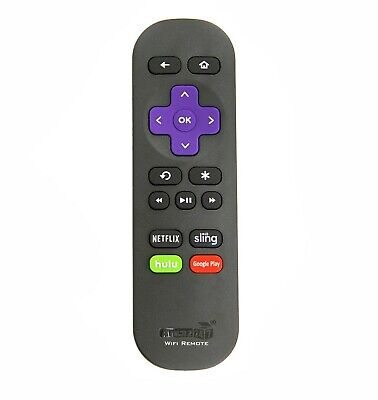 NEW Wi-Fi Replacement Remote FIT for ROKU STICK and FIT ALL ROKU Steaming Player