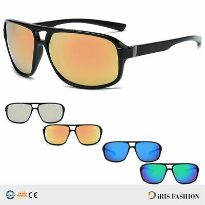 HOT Fashion Square Frame Sunglasses Men Driving Outdoor Sports Fishing Eyewear