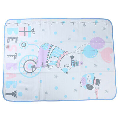 Toddler Infant Breathable Mattress Protector Waterproof Mat Cartoon Changing LH
