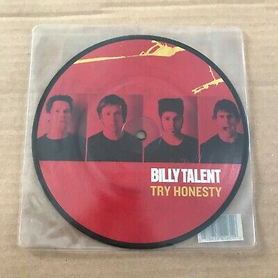 """Billy Talent - Try Honestly - 7"""" - UNPLAYED - Discount For 2+"""