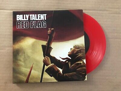 "Billy Talent - Red Flag - 7"" - Part 2/2 - UNPLAYED - Discount For 2+"
