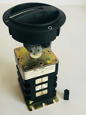 Siemens 187-2TC51 Rotary Disconnect Switch, New Old Stock