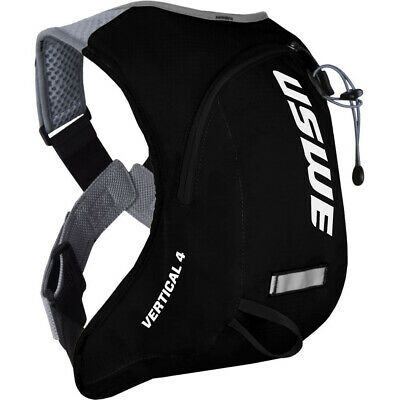 NEW USWE MX Vertical 4 Basic Carbon/Black Motocross Hydration Compatible Pack