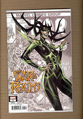 War Of The Realms #1 J Scott Campbell Variant Marvel 2019
