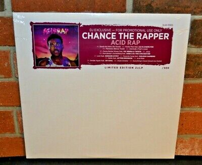 CHANCE THE RAPPER - Acid Rap, DJ Exclusive Limited 2LP COLORED VINYL New!