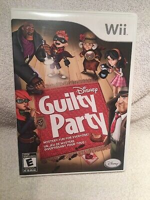 Disney Guilty Party - Nintendo Wii Game Wii U