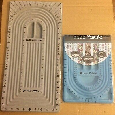 2 Diff Necklace Bracelet Jewelry Design Beading Boards- 1 Used,1 New in Orig Pkg