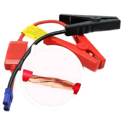 12v Emergency Battery Start Car Jump Starter Air Booster Charger Leads Vehicle