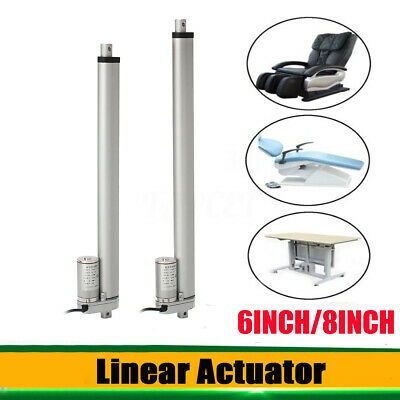 AU 6''8'' Linear Actuator 1500N 12V DC Electric Motor Lifting Max Load 150KG