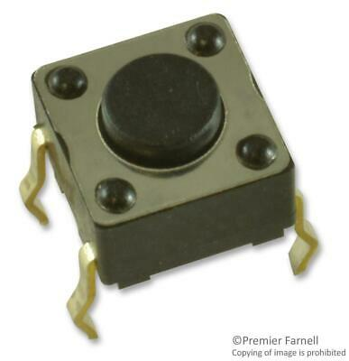 NKK SWITCHES-HP0215AFKP2-S-SWITCH£¬TACTILE£¬0.125A£¬28VDC£¬SOLDER¡ª5pk