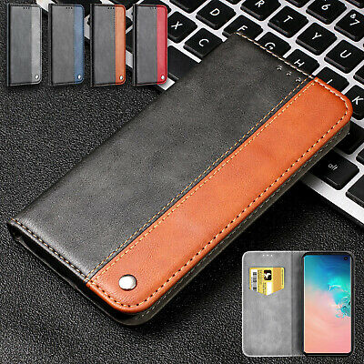 For Samsung Galaxy A50 A10 A70 40 A20 Case Magnet Leather Card Slot Stand Cover