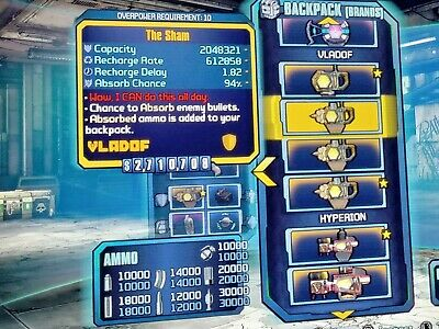 BORDERLANDS 2 PS4, All uniques! Op8 or op10, infinite