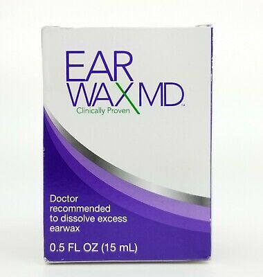 Ear Wax MD Clinically Proven Kit includes Drops And A Soft Bulb To Rinse Ear