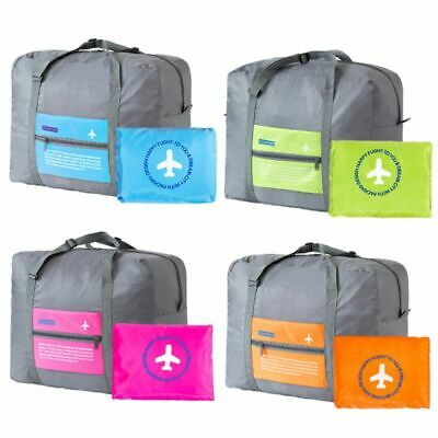 Big Size Travel Foldable Luggage Bag Clothes Storage Carry-On Duffle Organizer