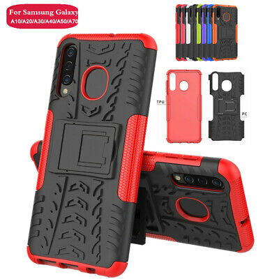Shockproof Hybird Armor Stand Cover Case Fit Samsung Galaxy A10 A30 A70 M10 M20