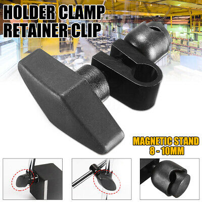 Universal Indicatior Dial Guage Holder Clamp Magnetic Stand Retainer Clip Chuck