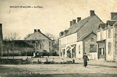 Carte NOYANT D'ALLIER La place