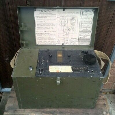 "Vintage 1945 Amalgamated Wireless Wavemeter Class ""C"" No1 - AWA Radio"