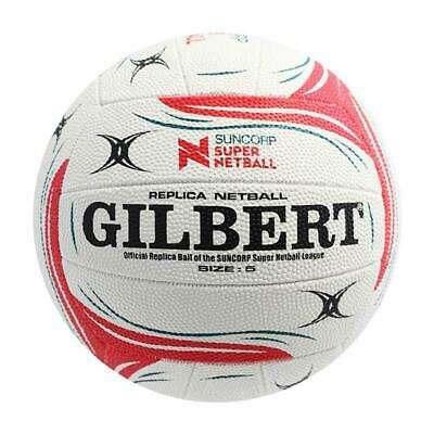 Brand New Gilbert Super Netball Replica Size 5 Free Delivery