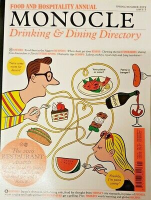 Monocle Magazine Spring/Summer 2019 # 2 = Food And Hospitality Annual = Awards