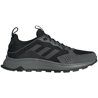 Mens Adidas Response Trail Wide Black Athletic Running Shoe EG0001 Sz 9.5W-10.5W