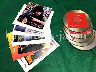 The Beatles Paul McCartney VA 5 CD Disc Set Collector's Pressed Music Japan F/S