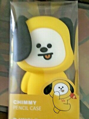 KPOP BaNGTAN BOYS BT21 CHIMMY 3D Soft Silicone Standing Doll- FAST SHIPPING
