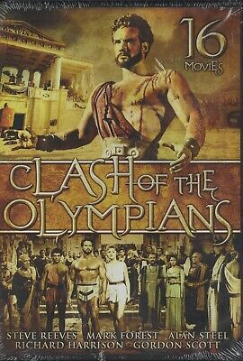 Clash of The Olympians/16 Movies(New DVD)
