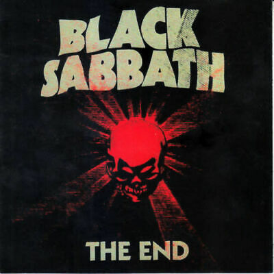 Black Sabbath The End CD (new) Jewel Case