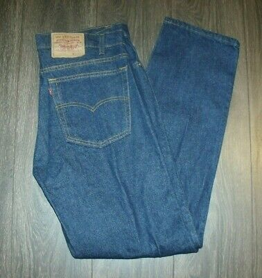 Vintage Made in USA Levi's 505-0216 SIZE 38x33 NWOT Unworn Condition