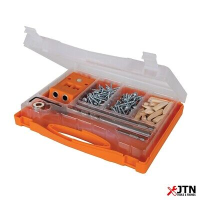 Triton T2PHJS Double Mini Pocket-Hole Jig Set 8 Piece