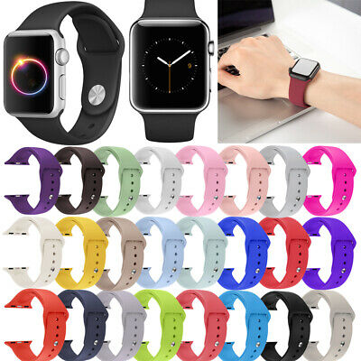 Banda Deportiva Correa De Silicona De Repuesto para Apple Watch 4/3/2/1 40/44MM