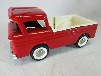 Vintage1960's Structo red Corvair ramp-side pickup truck