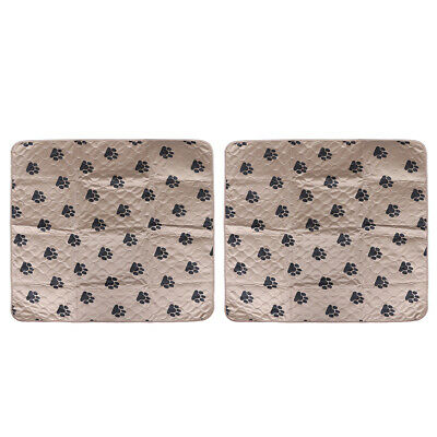 2Pc Dog Pee Pads Soft Nontoxic Practical Training Puppy Pads for Puppy Dogs Pets