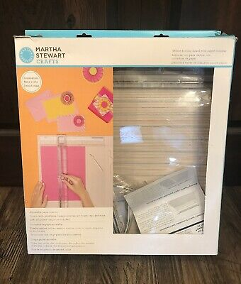 Martha Stewart Deluxe Scoring Board Project Template & Personal Trimmer