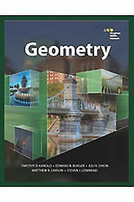 HMH Geometry: Geometry (2018, Hardcover, Student Edition of Textbook)
