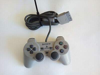Sony Dual Shock Wired Original Playstation Controllers PS1 PS2 Free P&P