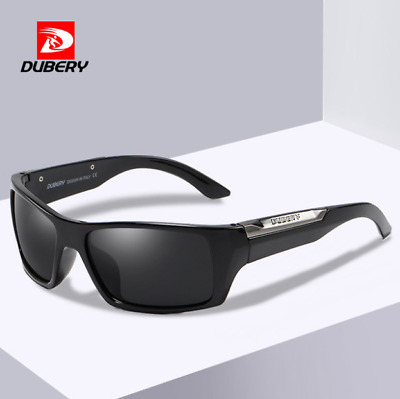 DUBERY Men Polarized Sunglasses Outdoor Driving Riding Fishing Sport Glasses Hot