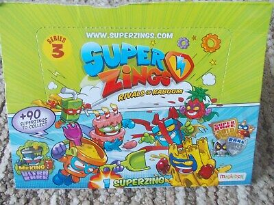 SUPERZINGS series 3 >rare GOLD, SILVER, MR KING, SUPERSLIDERs select from menu