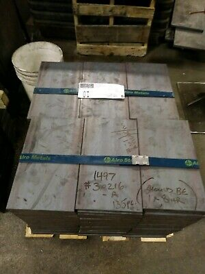 "2pcs - 3/4"" x 8 x 13.75 long HRS .75"" Hot Rolled Steel Bar stock!!"