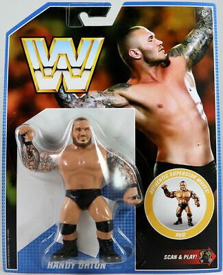Wwe Randy Orton Wwf Retro App Mattel Series 9 Wrestling Action Figure Basic Aew