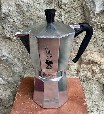 CAFETIERE ITALIENNE MOKA EXPRESS en ALUMINIUM Marque BIALETTI Made in Italy