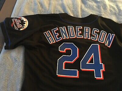 the latest adb0d e27c1 RICKEY HENDERSON AUTHENTIC Russell OAKLAND ATHLETICS Jersey ...
