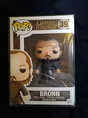 Funko Pop! Bronn Game of Thrones #39 Vaulted Retired GOT with Pop Protector