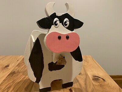 Custom BBQ Blvd Cow /& Pig Sign Rustic Hand Made Vintage Wooden ENS1000495