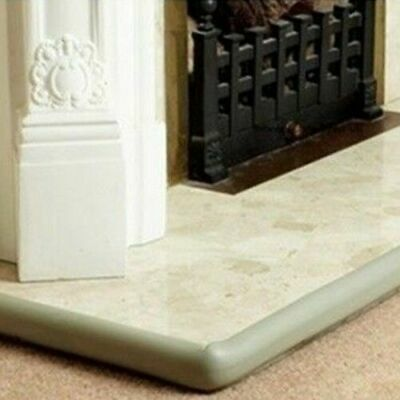Baby Safety Fireplace Fire Surround Cushion Grey Edge Guard - 2m