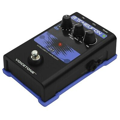TC Helicon Voicetone H1 Intelligent Harmony Vocal Processor Effects Pedal